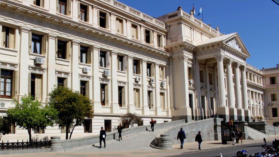 El palacio de Justicia Córdoba.