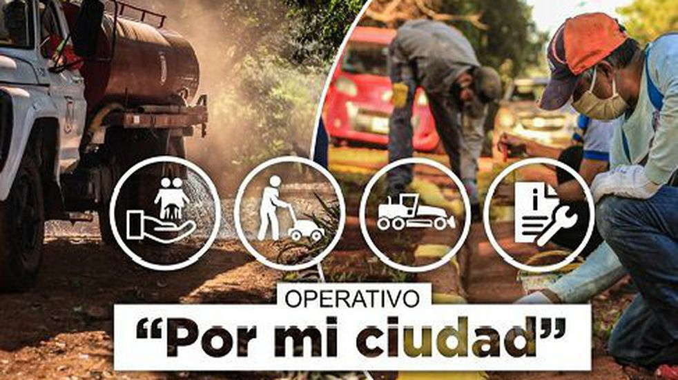 """Nuevo operativo """"Por mi Ciudad"""" en la localidad de Eldorado"""