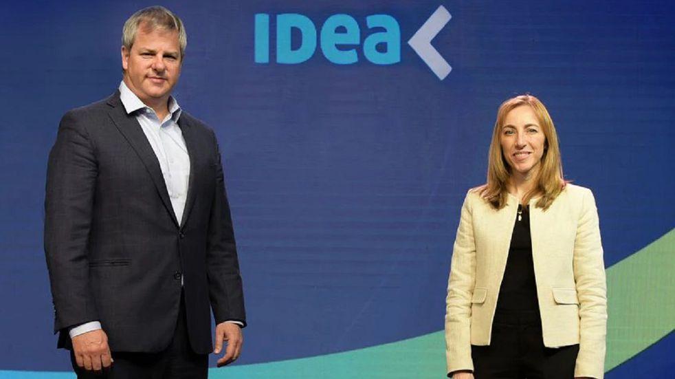 Roberto Murchison y Paula Altavilla en el Coloquio de IDEA 2021