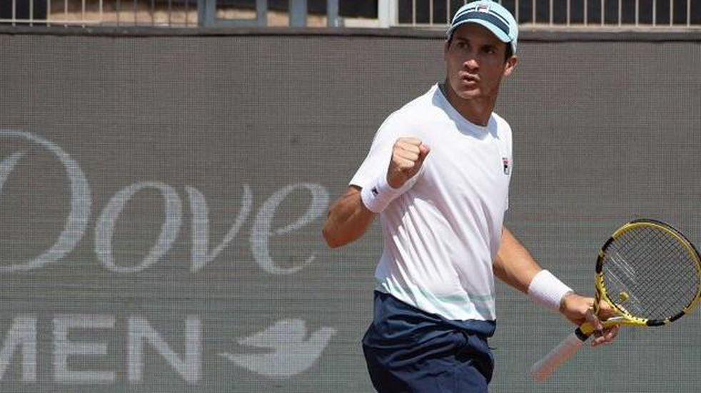Facundo Bagnis se metió en los cuartos de final del Challenger de Lyon