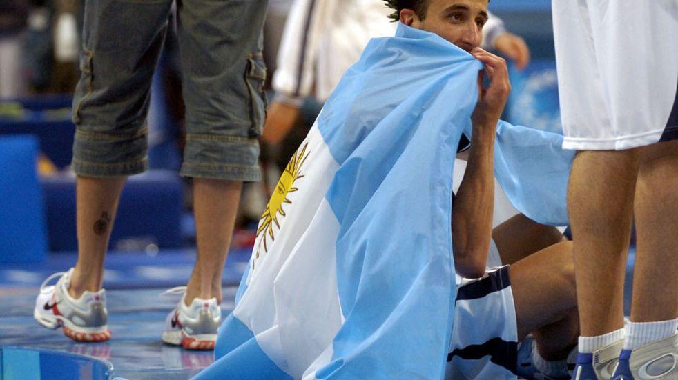 Manu Ginóbili se emocionó con los atletas argentinos en Tokio 2020. (Foto de archivo: Gabriel Piko/Télam)