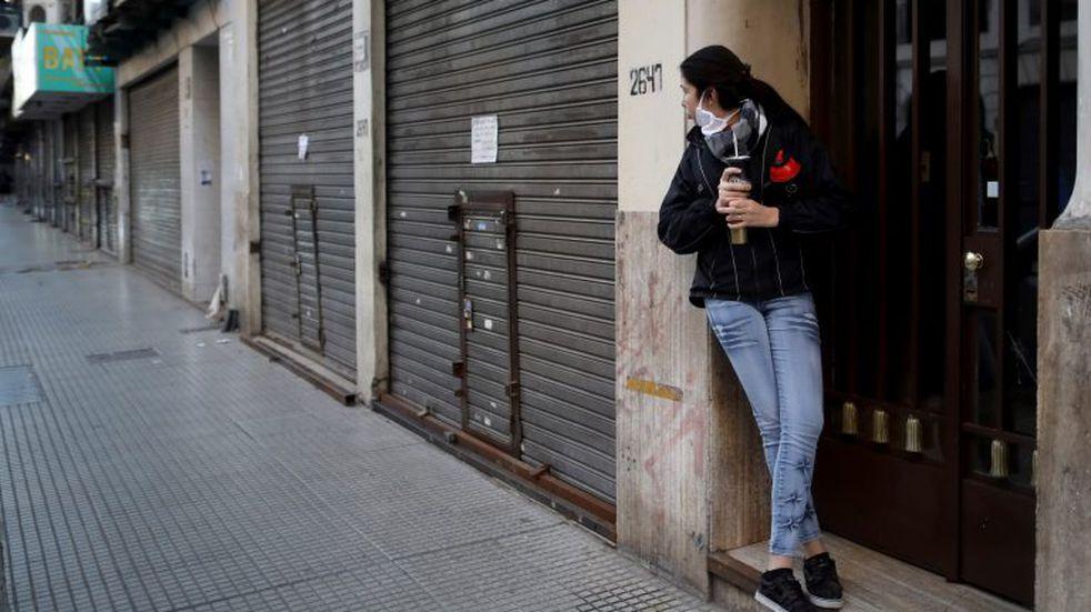 """El Gobierno no descarta tomar """"medidas sociales excepcionales"""" si se da un rebrote de coronavirus. Foto: AP /Natacha Pisarenko"""