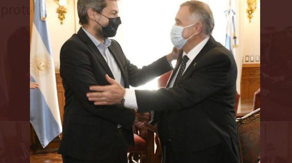 Jaldo recibió al ministro Lammens en Tucumán.