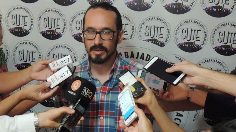 Tras ser sobreseído Henríquez retomará su cargo de secretario general del SUTE