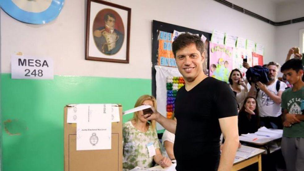 """Axel Kicillof dijo que los argentinos y los bonaerenses """"votan con el corazón"""""""