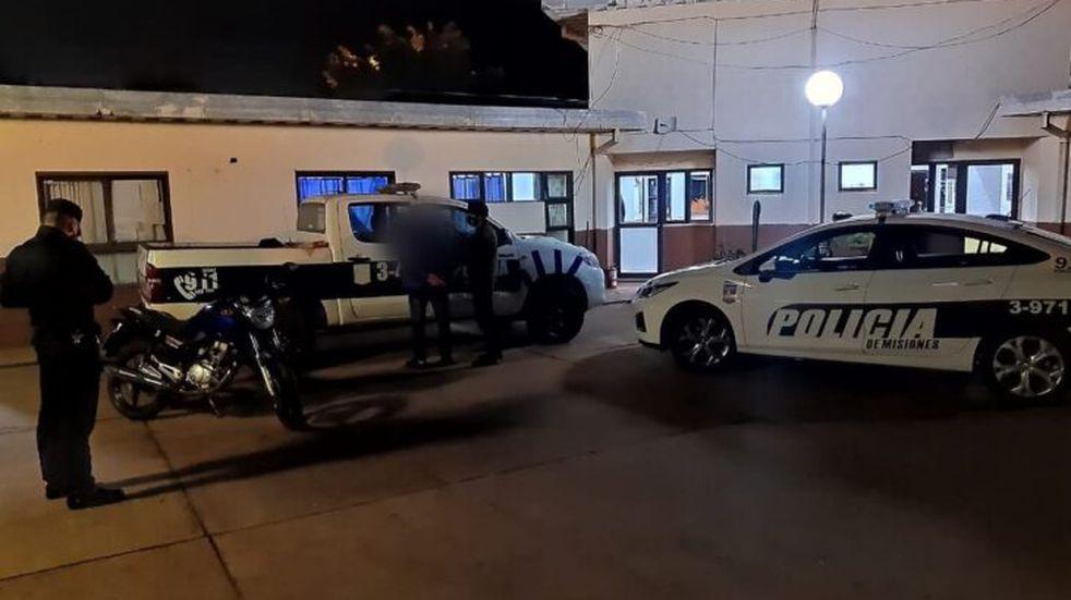 Oberá: terminó detenido por realizar maniobras peligrosas y agresión al personal policial