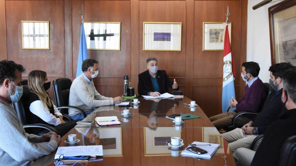 Microcentro y Código Urbano, la agenda entre Luis Castellano y el CCIRR