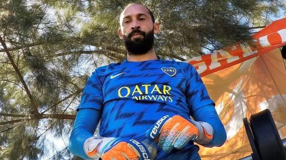 """El arquero de Boca Marcos Díaz chicaneó a River en una entrevista: """"Ya descendió"""""""