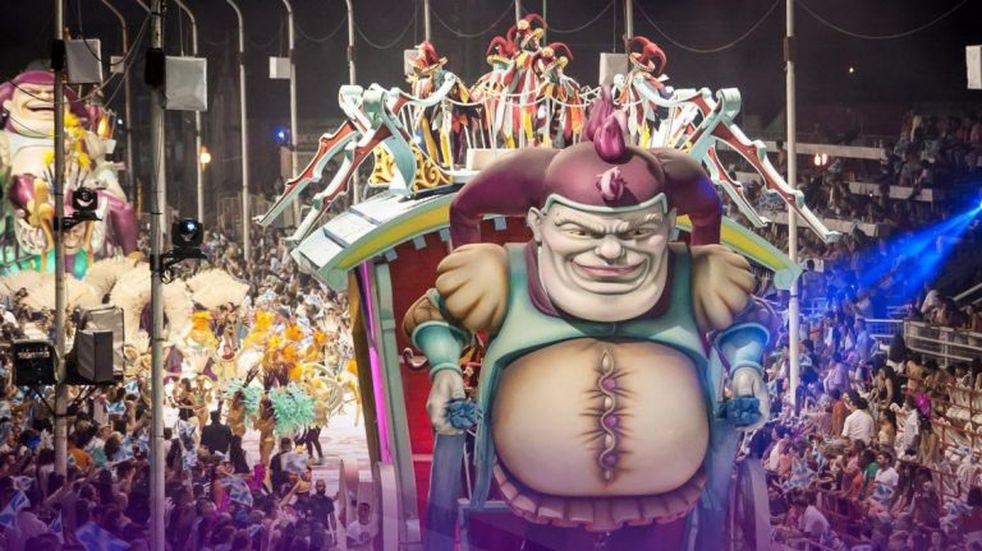 Comparsa O`Bahía 2020 - Carnaval de Gualeguaychú. Archivo Carnaval del País