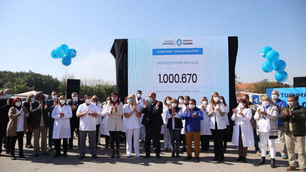 Tucumán superó el millón de vacunas colocadas contra el coronavirus