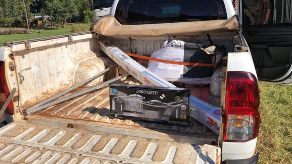San Pedro: secuestraron un vehículo de Energía de Misiones con contrabando