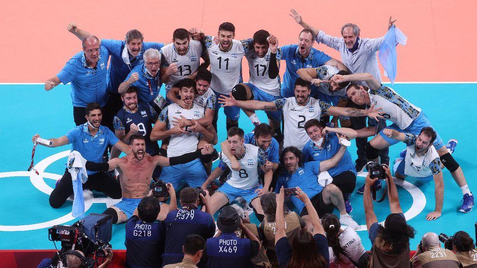 Argentina ganó el bronce olímpico en vóley al derrotar a Brasil y es el mejor de Sudamérica