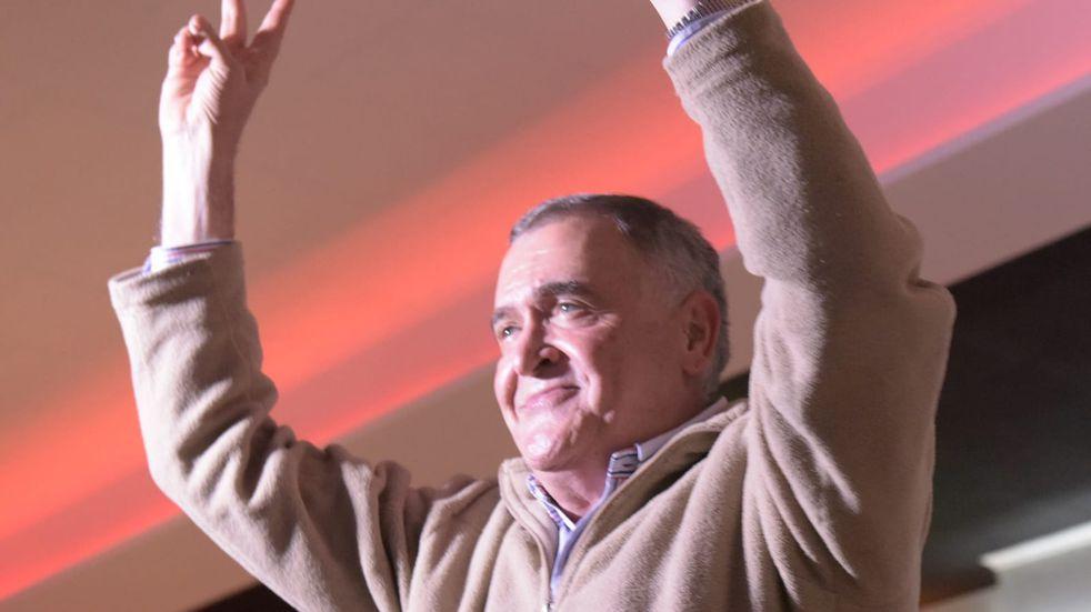 Jaldo se reunió con dirigentes peronistas en Yerba Buena