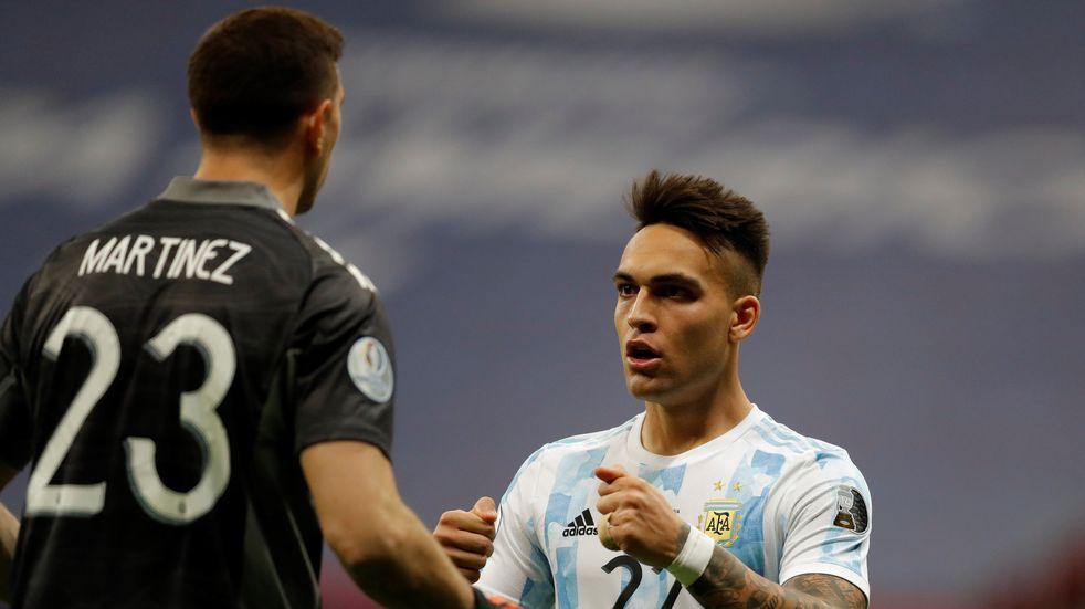 Preocupación en la Selección: Lautaro Martínez sigue con molestias y es duda para las Eliminatorias