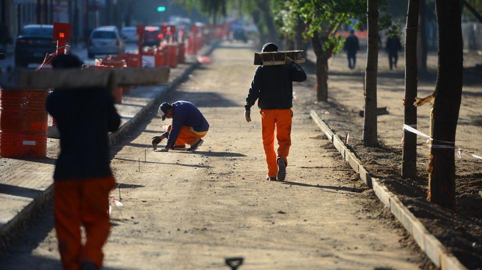 Reactivan las obras en el Parque Las Heras de Córdoba