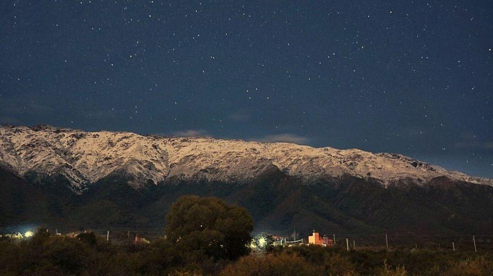 El cielo de San Luis como nunca lo viste: la foto de Gerardo Martín que se volvió viral