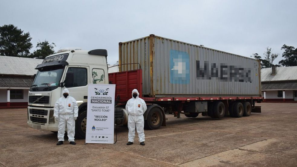 Incautaron un cargamento de precursores químicos en Santo Tomé