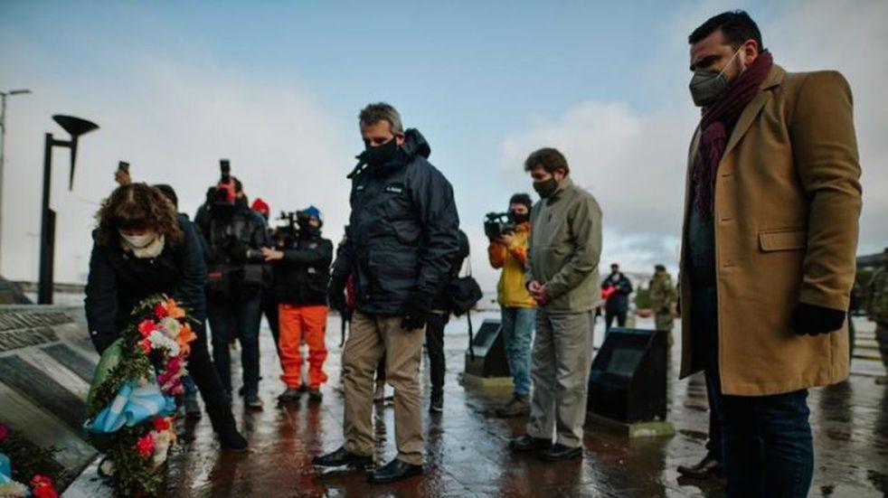 El Ministro de Defensa de la Nación, Agustín Rossi, visitó Ushuaia y participó de diversas actividades