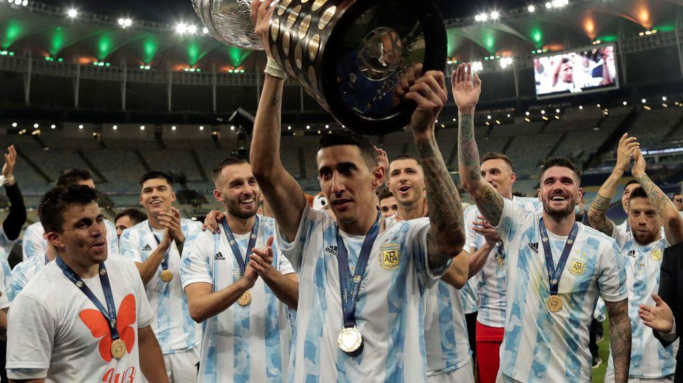 """""""Todavía no puedo llorar"""", dijo Ángel Di María tras su revancha en Brasil"""