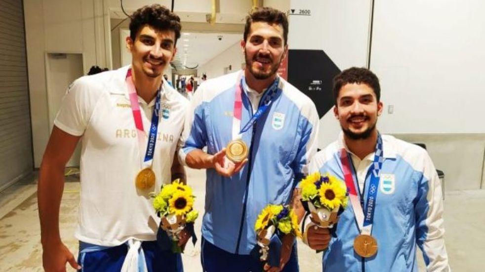 """Desesperado pedido de tres medallistas olímpicos: """"Queremos hacer la cuarentena en nuestras casas y no en un hotel"""""""