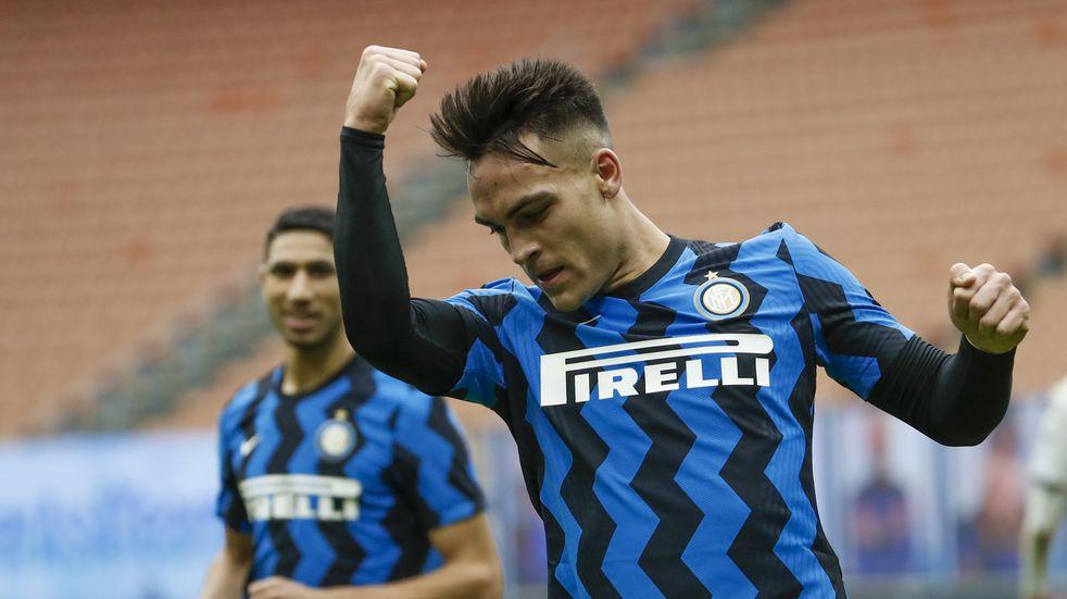 Gol de Lautaro Martínez para una nueva victoria del Inter