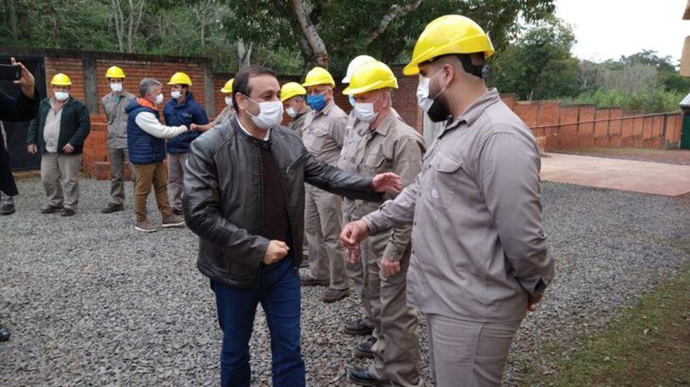 El gobernador de Misiones, Herrera Ahuad, acompañó la inauguración de un nuevo módulo para la CAPRIL en Puerto Rico
