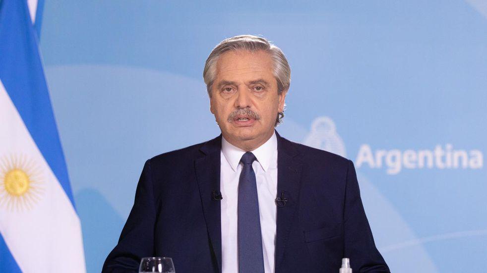 El presidente Alberto Fernández anunció nuevas restricciones ante el avance de la segunda ola de COVID-19.