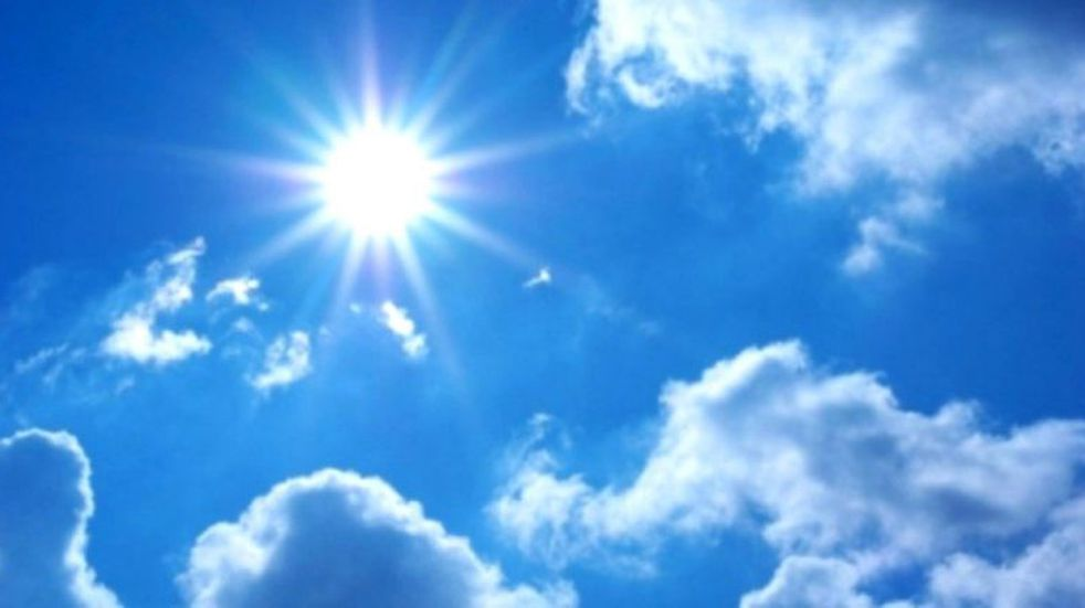 Tiempo bueno y una máxima de 25° para el fin de semana