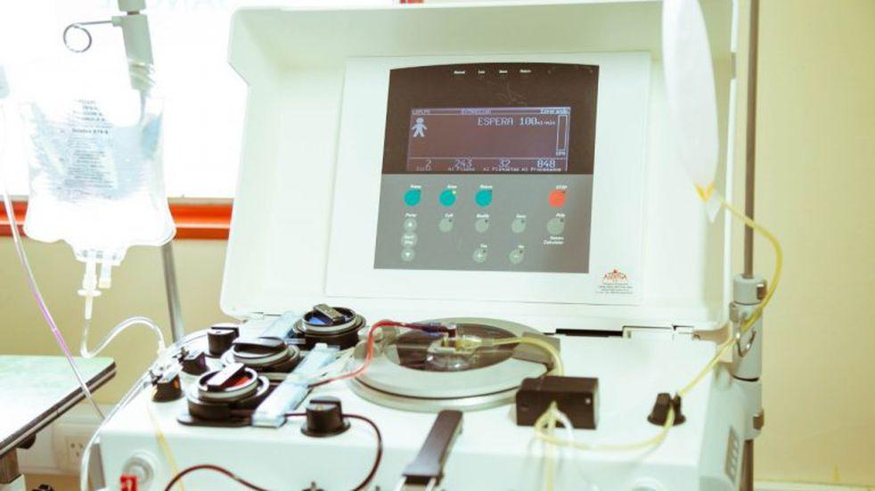 Buenas noticias: la máquina de extracción de plasma llegó por fin a Orán
