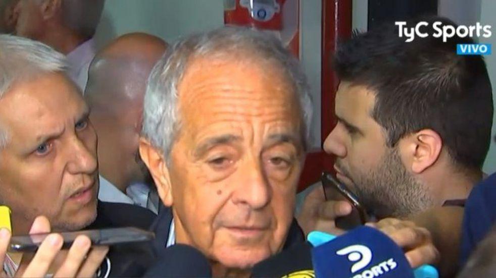 """Rodolfo D'Onofrio: """"Sin dudas el partido se va a jugar en River y con público"""""""