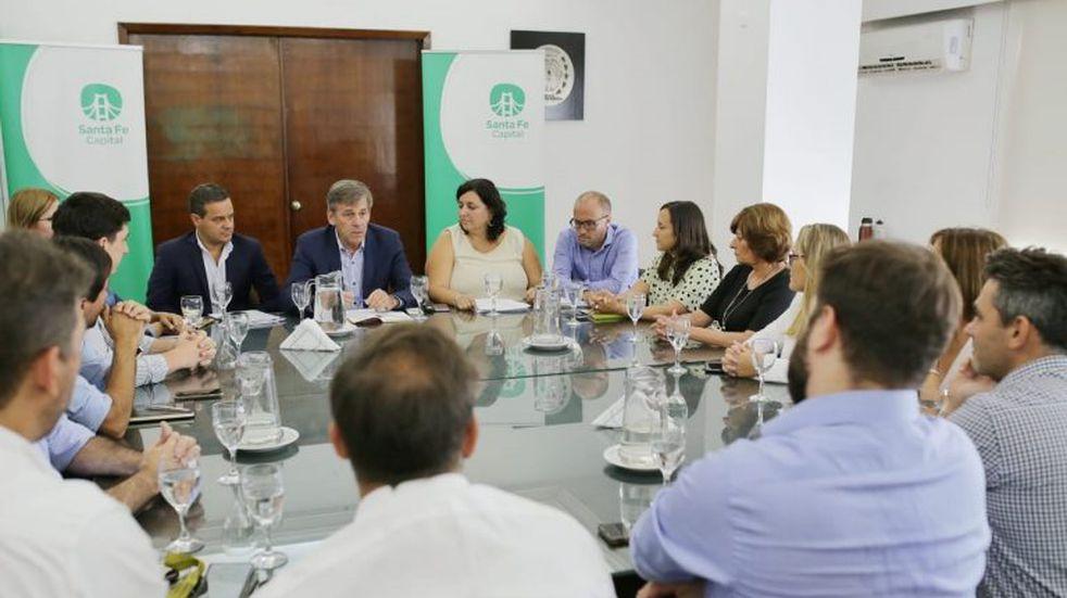 Jatón presentó a los concejales detalles del Presupuesto 2020