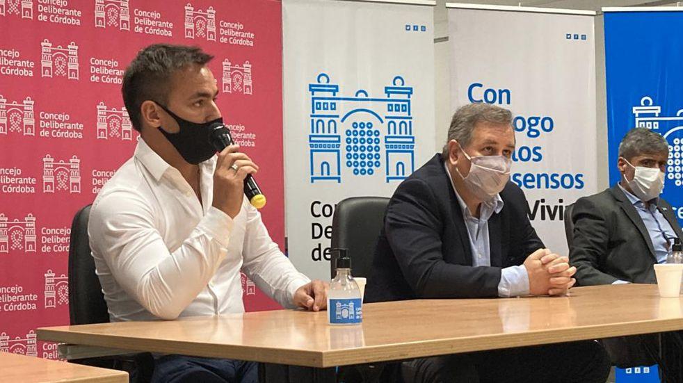 Juan Negri criticó las medidas sanitarias tomadas por Llaryora
