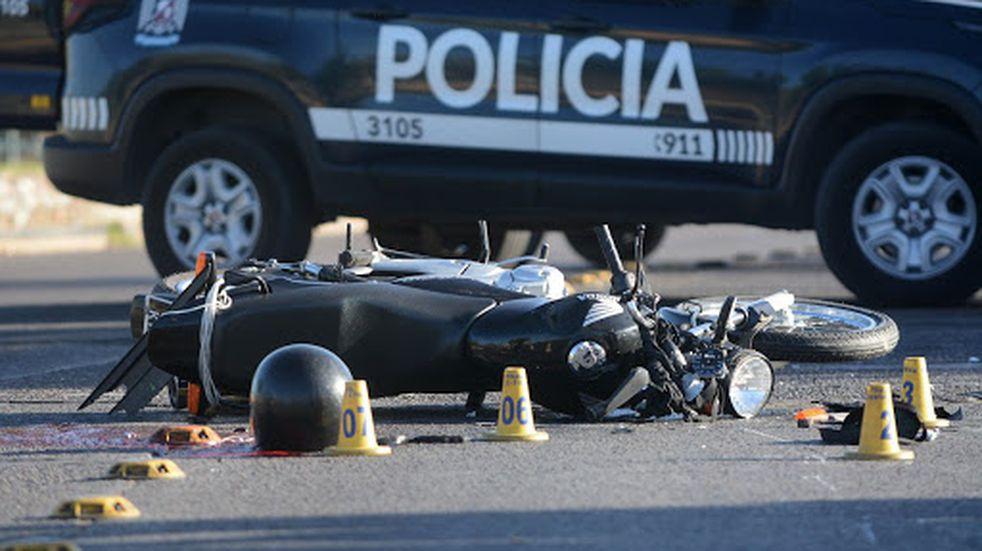 Murió un motociclista tras chocar con un camión repartidor en Lavalle