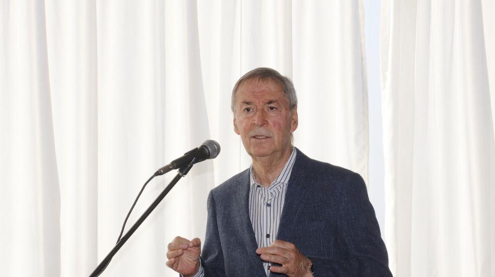 El Gobernador Juan Schiaretti, en un acto realizado la semana pasada.