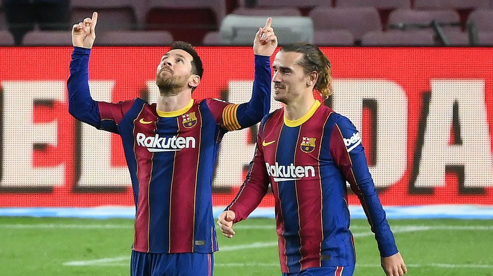 Messi marcó dos golazos y Barcelona ganó 5 a 1