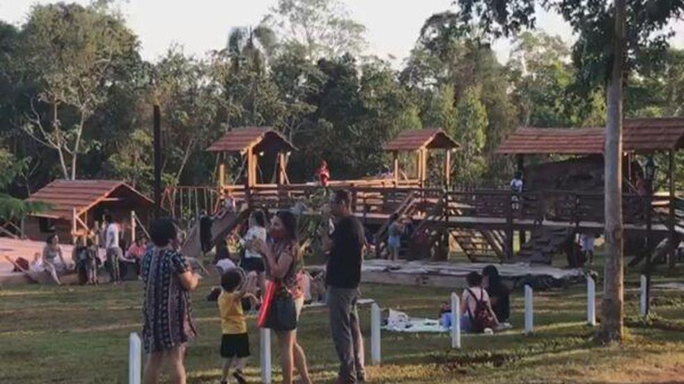 Emprendedores de Puerto Iguazú tuvieron una nueva feria