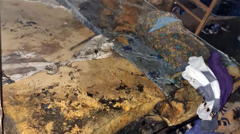 Cuatro niños y su mamá fueron hospitalizados tras incendiarse su vivienda en Paraná
