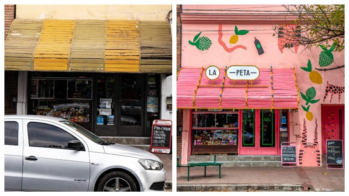 El antes y el después de La Peta (barrio Cofico).