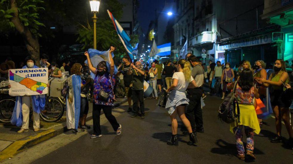 Protestas contra Gildo Insfrán: denuncian que no se cumple el fallo que ordena la libre circulación