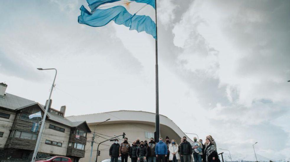 El Municipio participó del acto en homenaje al General Manuel Belgrano