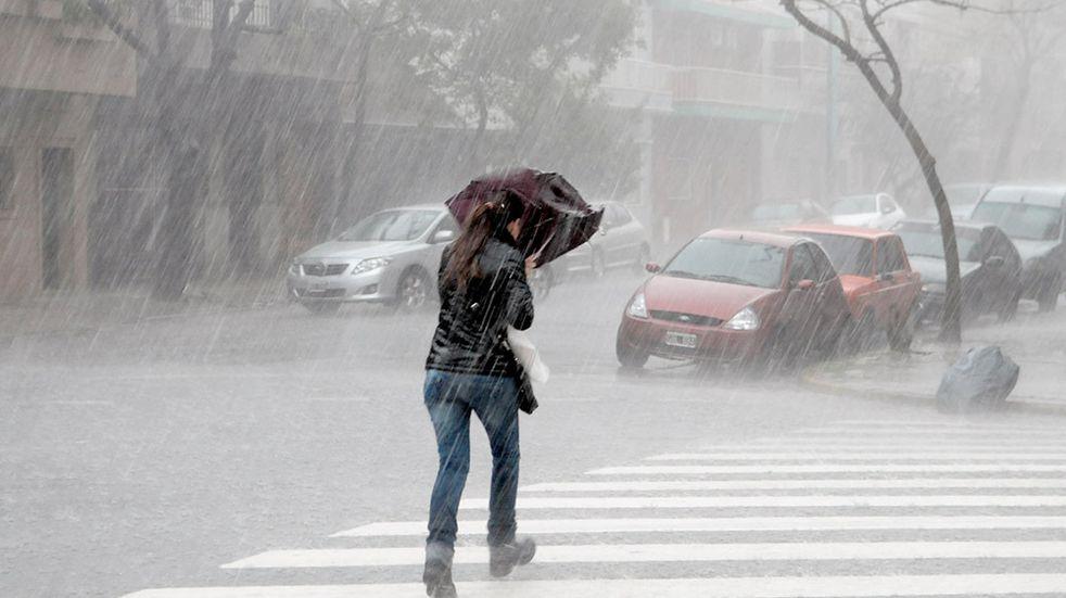 Se produjeron fuertes tormentas con ráfagas que afectaron al AMBA y a cuatro provincias