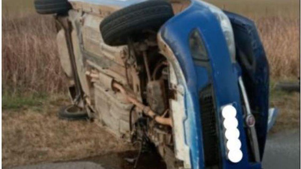 Heridas de gravedad para un policía en un accidente entre Las Varas y Las Varillas