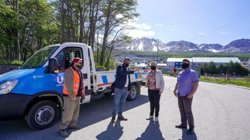 Se sumó vehículo a la Subsecretaría de Servicios Públicos
