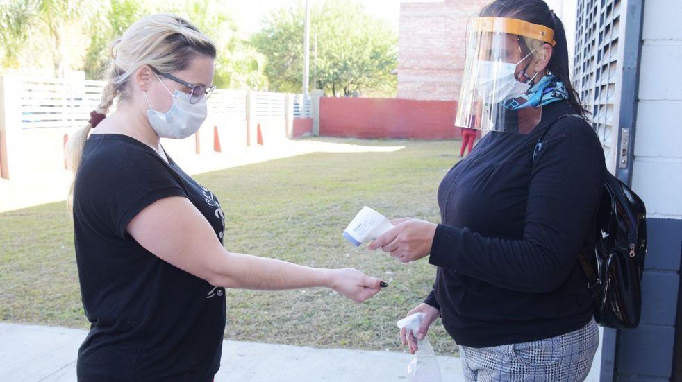 Arroyito: 247 negativos y 14 positivos en el nuevo testeo masivo en el Salón de Bomberos Voluntarios
