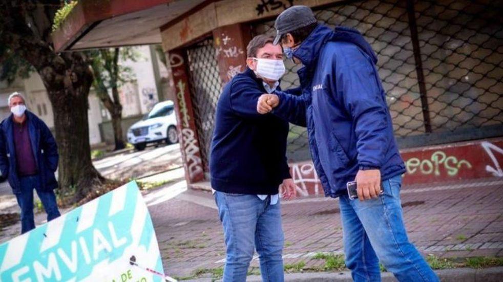 Guillermo Montenegro admitió que los contagios de coronavirus en Mar del Plata seguirán en aumento