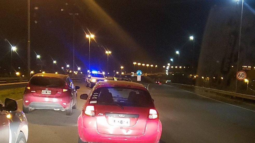 Un choque provoca importantes demoras en el acceso al puente Rosario-Victoria