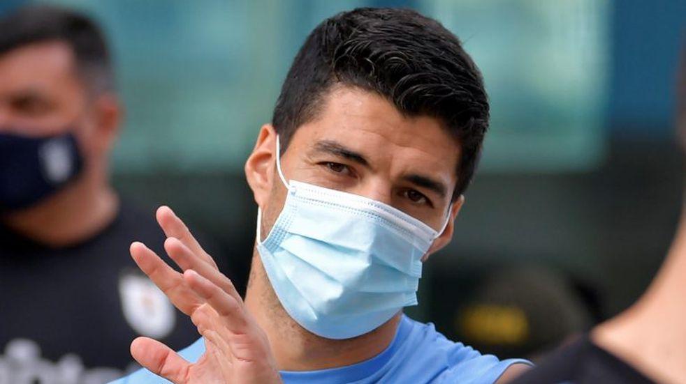 Luis Suárez tiene coronavirus: es baja ante Brasil y Barcelona