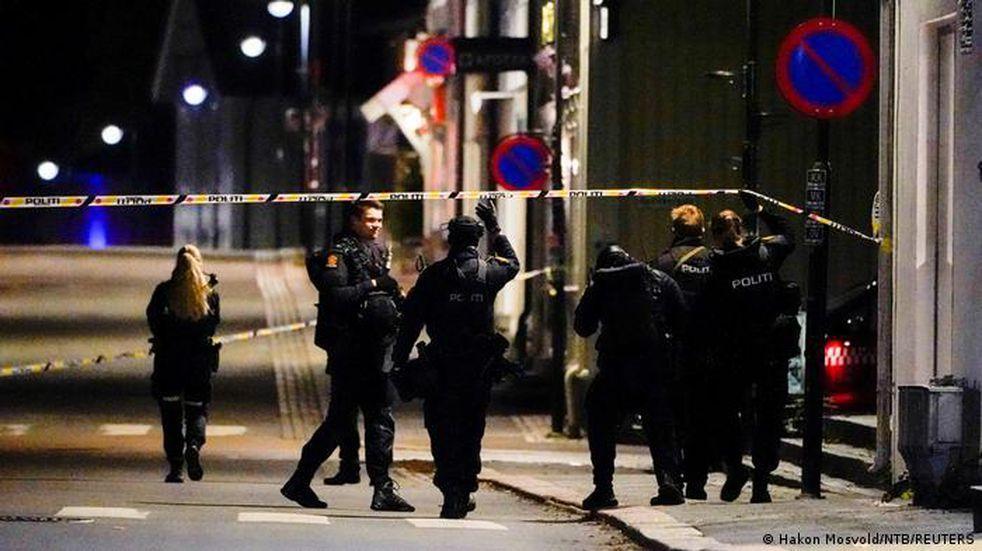 Ataque terrorista en Noruega: un hombre mató a cinco personas con un arco y flechas