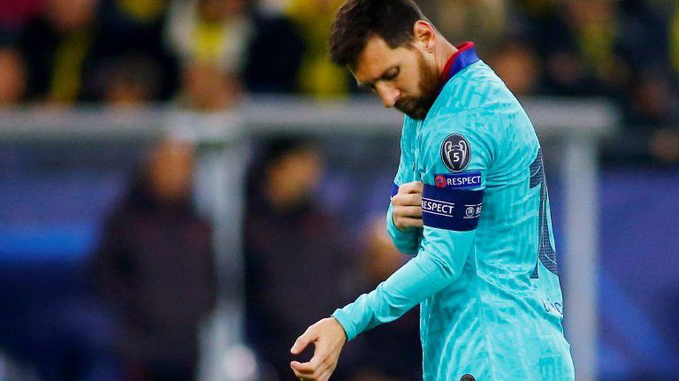 Champions League: con el regreso de Messi, Barcelona igualó sin goles ante Borussia Dortmund