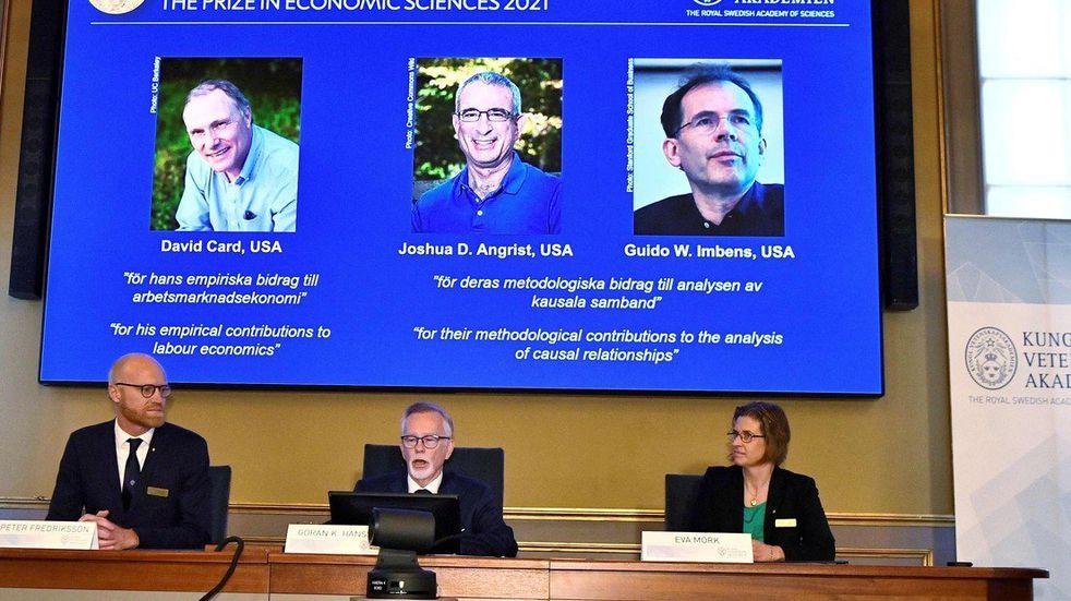 El Nobel de Economía fue para tres economistas experimentales